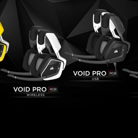 Corsair launches its new lineup of Void Pro gaming headsets