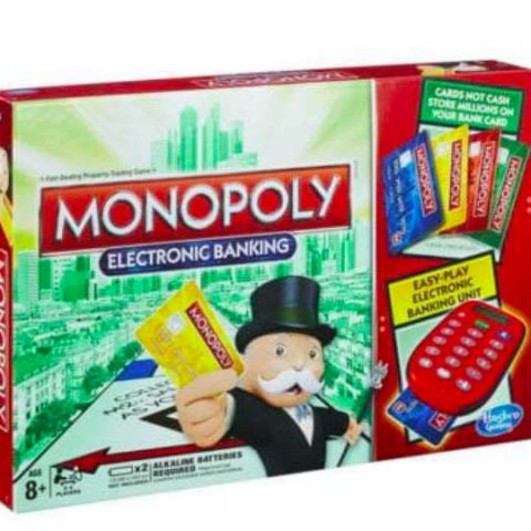 India's cashless drive inspired Hasbro to make Monopoly Electronic Banking