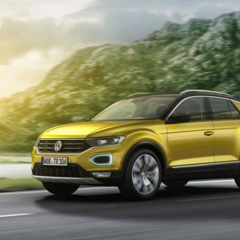 Volkswagen T-Roc: First look at the technology inside