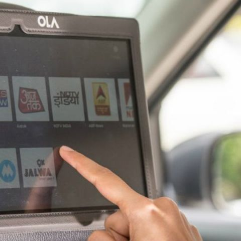 Ola, YuppTV partner to bring in-cab live TV services