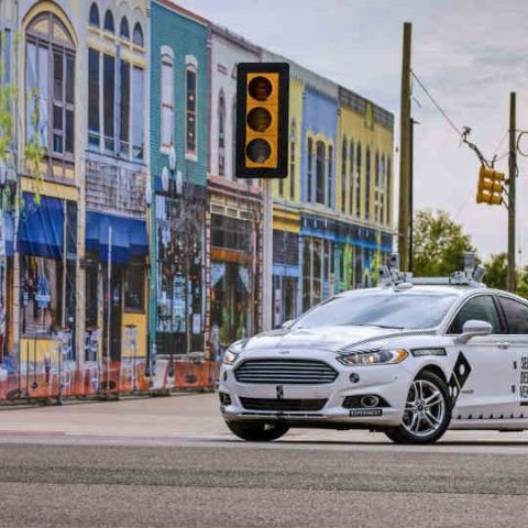 Say hello to Ford's autonomous pizza delivery car
