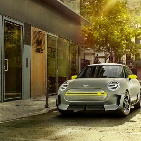 The Mini Electric Concept fuses the best of electric power and aesthetics