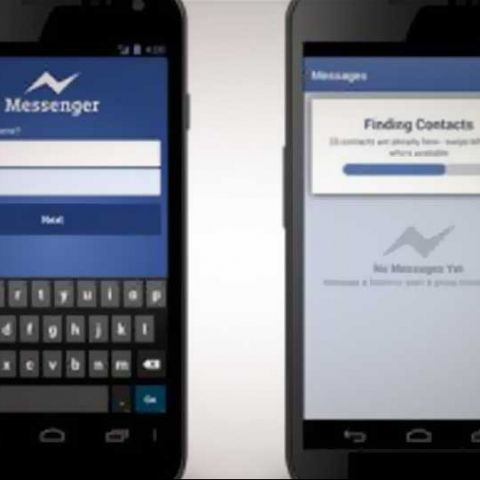 Sign in on Facebook Messenger with just your phone number