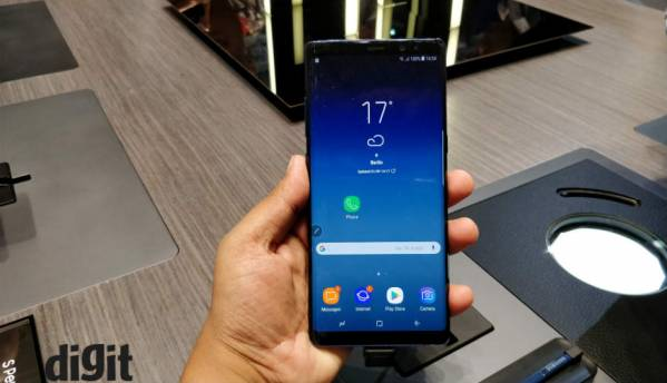 Samsung Galaxy Note 8 pre-orders start shipping in India, will go on sale starting September 22