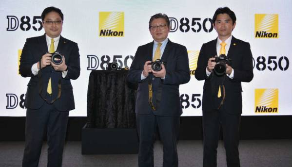 Nikon D850 DSLR camera with 45.7MP BSI CMOS sensor launched in India for Rs 254,950
