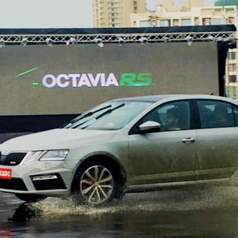 The 2017 Skoda Octavia RS brings formidable power-price ratio to India