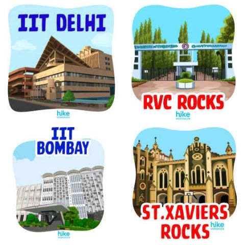 Hike launches personalized sticker packs for over 500 colleges, aims for over 1000 colleges by 2018