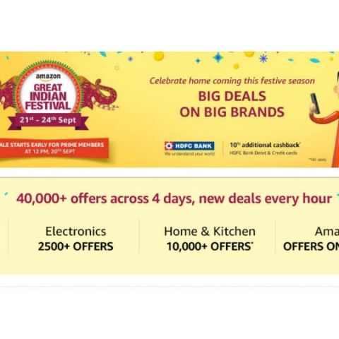 Amazon Great Indian Festival commences on September 20: All the gadget deals you can expect