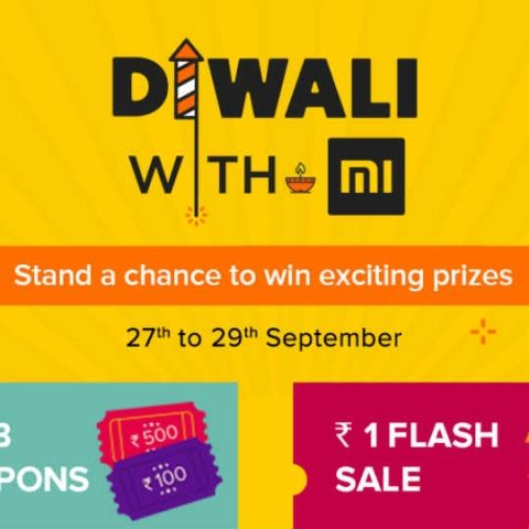 Xiaomi 'Diwali with Mi' sale from September 27: Rs 1 flash sale, discounts on Redmi Note 4 and other deals to know