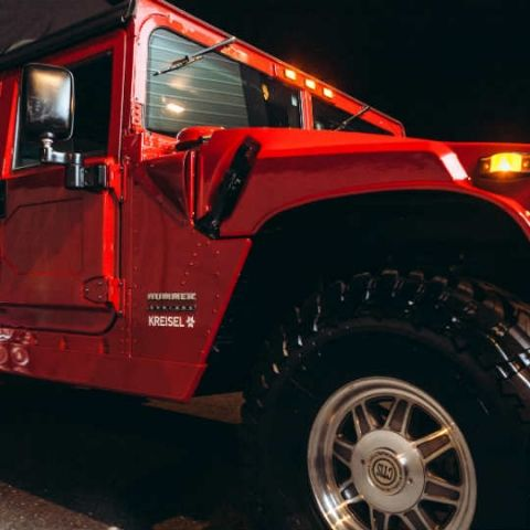 Say hello to Arnold Schwarzenegger's fully electric Hummer!