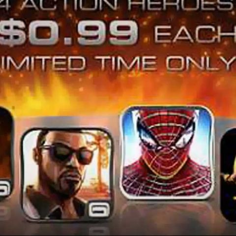 Gameloft announces five game deals on Android & iOS this holiday season