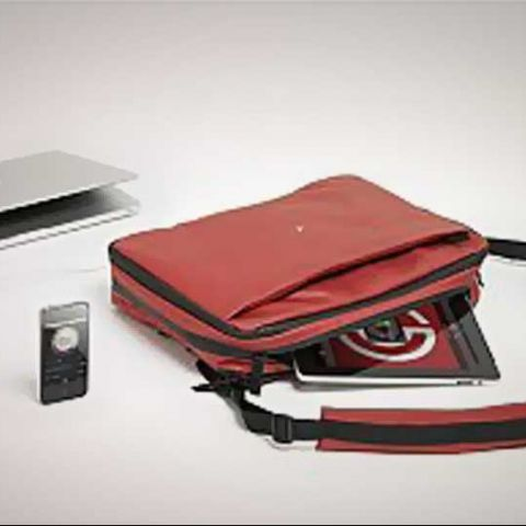 Phorce: A smart bag that charges your gadgets on the go