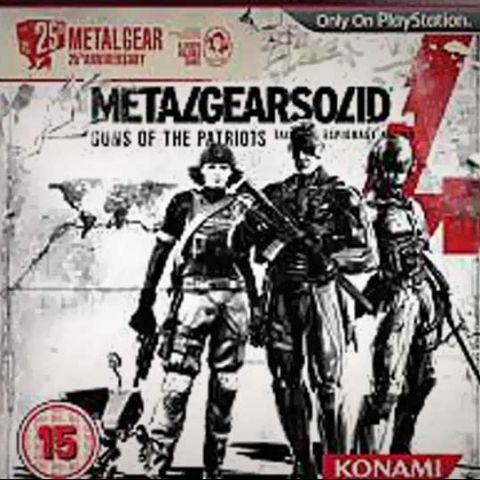 Metal Gear Solid 4 25th Anniversary Edition to launch next month