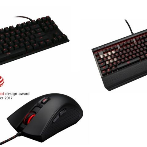 Kingston HyperX launches mechanical keyboards, gaming mouse in India