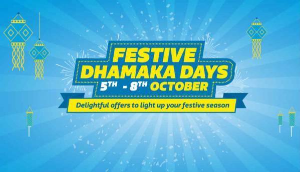 Flipkart Festive Dhamaka Days: Deals on Apple iPhone 8, Xiaomi Redmi Note 4, Lenovo K8 Plus and more