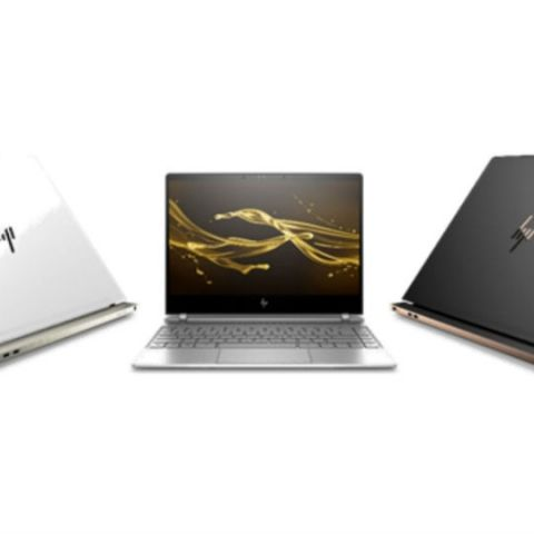 HP unveils next-gen Spectre laptops with Intel 8th Gen processors, micro-edge bezels