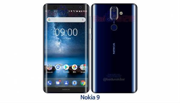 Nokia 9 renders leak, show bezel-less design with curved glass back