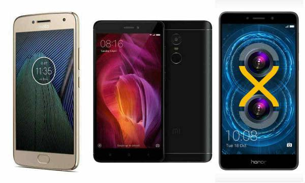 Best mobile phones to buy under Rs. 15,000 (October 2017)