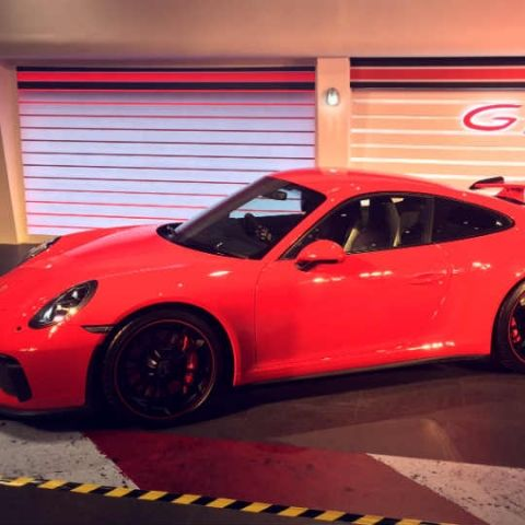 The Porsche 911 GT3 brings comfort and luxury to a purebred sports car