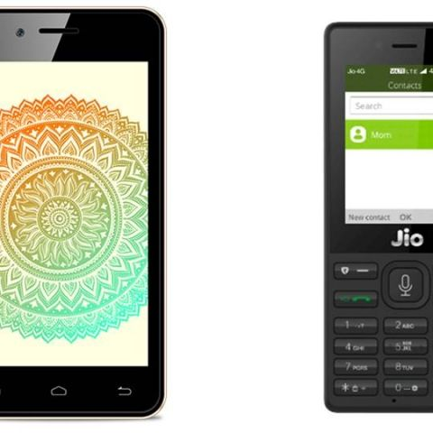Reliance JioPhone Versus Airtel Karbonn A40 Indian: Rs 1,500 smart feature phone goes up against Rs 1,399 smartphone in a spec and tariff comparison