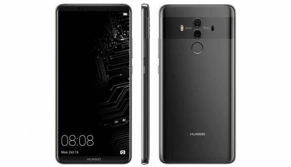 Huawei Mate 10 Pro codenamed Blanc leaks in the form of renders, launch set for October 16