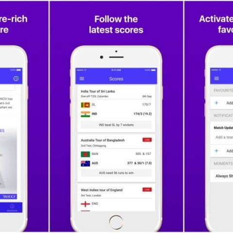 Yahoo Cricket app gets an overhaul, comes with new real-time updates and other features