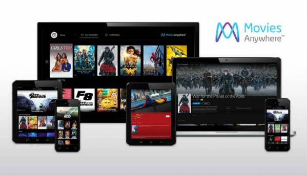 Movies Anywhere will help users merge and access movie libraries across iTunes, Google Play and other platforms