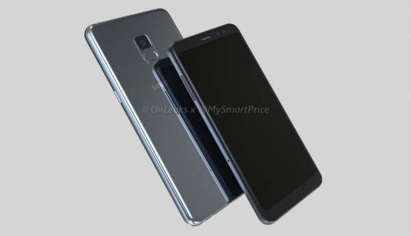 Samsung Galaxy A5 (2018) and Galaxy A7 (2018) renders leak, show Infinity display design and dual selfie cameras