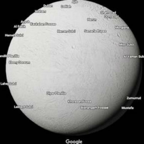 Google adds planets and moons to Google Maps