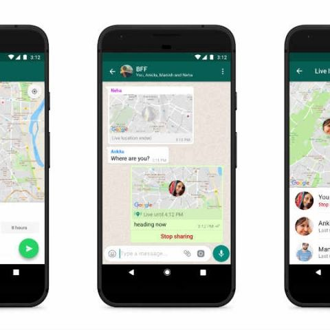 WhatsApp rolling out Live Location for Android and iOS: Here's how to use the encrypted location sharing feature