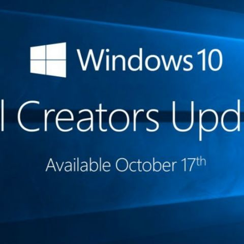 Microsoft releases Windows 10 Fall Creators Update for over 500mn devices