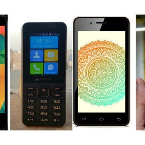 bbf875e08 Micromax Bharat 2 Ultra Vs Micromax Bharat 1 Vs Airtel Karbonn A40 Indian  Vs JioPhone   Spec