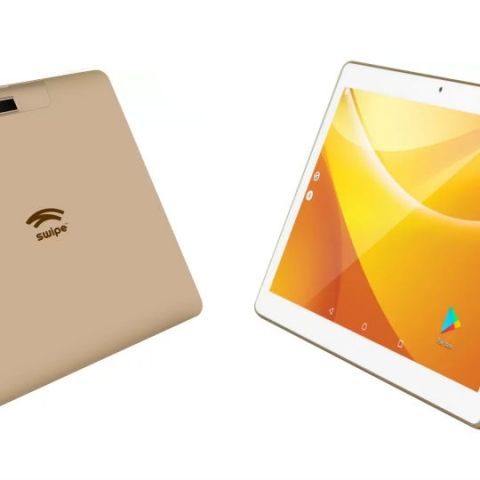 Swipe launches dual-SIM 4G VoLTE enabled 10.1-inch Slate Pro Android tablet at Rs 8,499