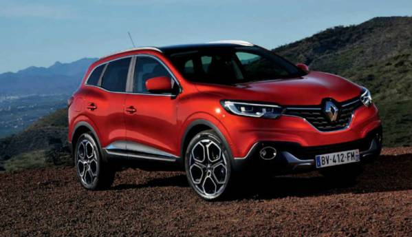 You can use only your thoughts to drive this Renault SUV!