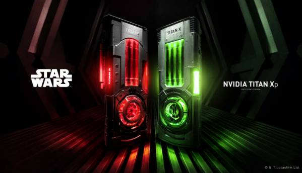 NVIDIA launches Star Wars Collector's Edition Titan Xp GPUs