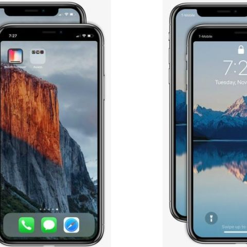 'Notch Remover' is an app that gets rid of iPhone X's notch