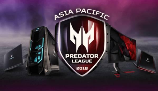 Acer announces its Asia Pacific Predator League 2018