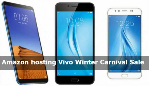 Vivo Winter Carnival Sale on Amazon: Deals on Vivo V7+, V5S, V5 Plus and more
