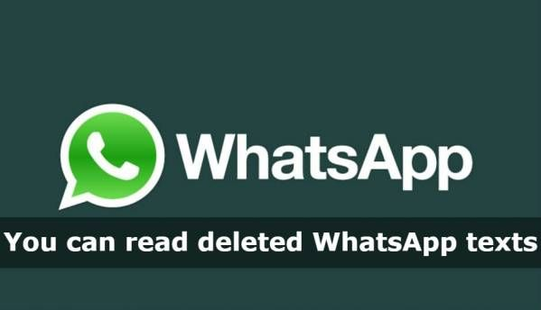Deleted WhatsApp messages can still be read via Android notification logs: Reports