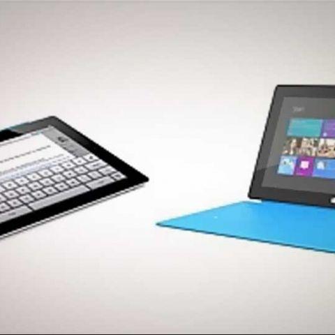 Microsoft Surface for Windows RT vs. Apple iPad