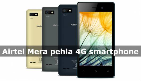 Karbonn A1 Indian, A41 Power 4G smartphones launched by Airtel at effective price of Rs 1,799 and Rs 1,849 respectively