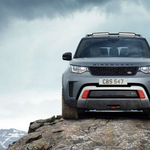 Land Rover unveils high octane Discovery SVX with new off-roading technology