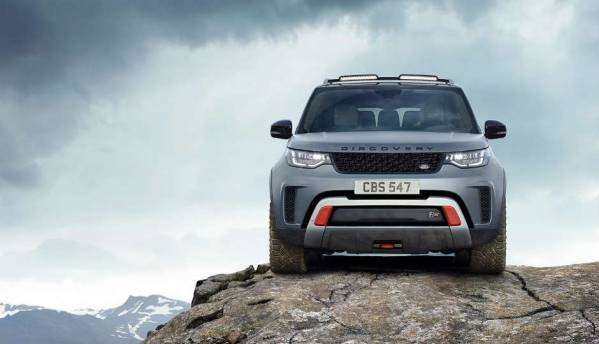Land Rover unveils high octane Discovery 'SVX' with new off-roading technology