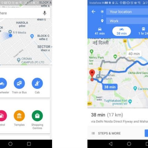 "Google Maps introduces ""Two-Wheeler mode"" in India"