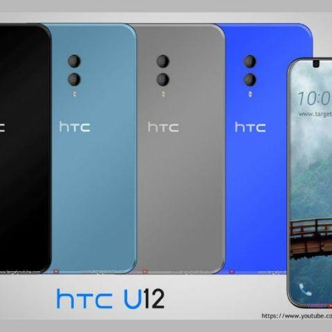 HTC U12 with dual camera setup, 4K bezel-less design spotted