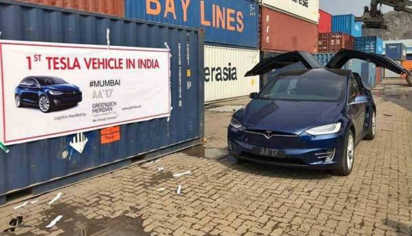 First ever Tesla Model X electric SUV arrives in India