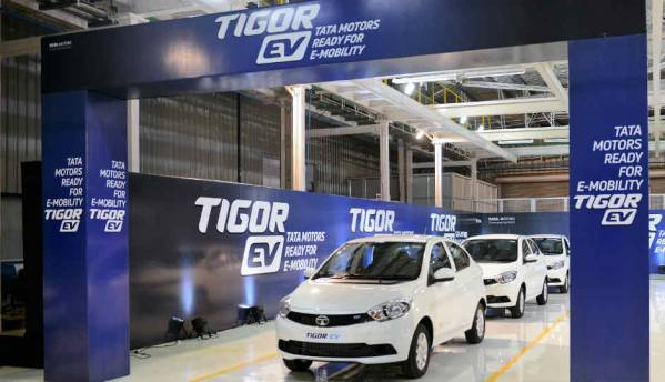 First batch of Tata Tigor EVs rolled out