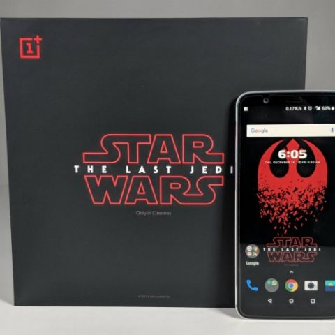 First 37 customers of the OnePlus 5T Star Wars Edition will get a star named after them!