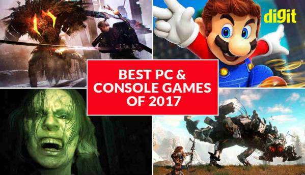Best PC & Console games of 2017