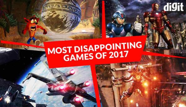 Most Disappointing Games of 2017